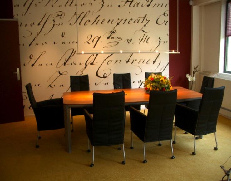 Newtonbaan - Inrichting van een lounge in lengte ...